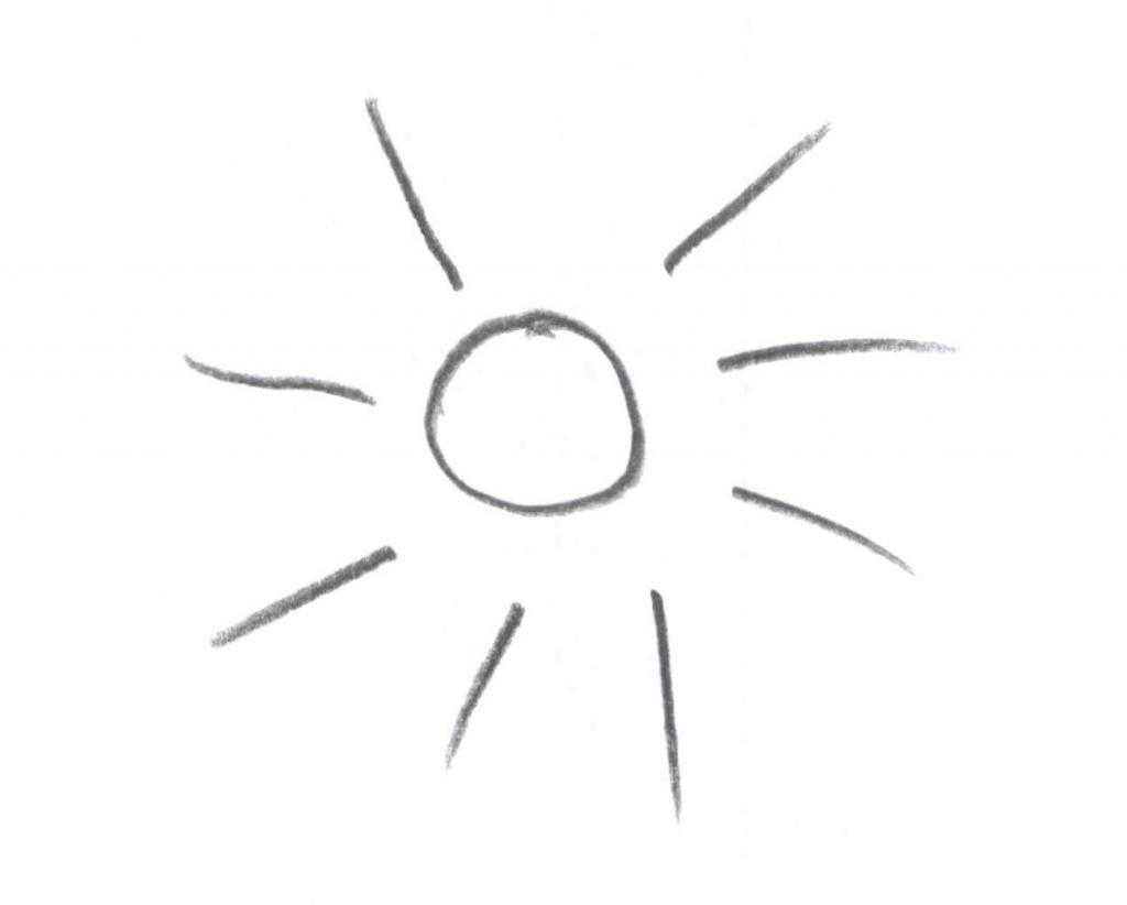 Zon - zonnestralen - Zonlicht is goed voor de biologische klok. Daglicht heeft een goed effect op slapen.